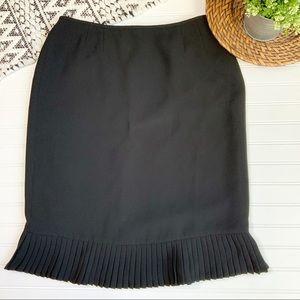 LE SUIT Polyester black pencil skirt-size 14